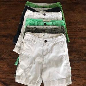 Abercrombie lot boys shorts size 8 various colors